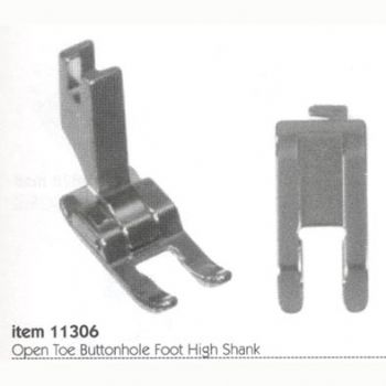 buttonhole foot for sewing machine